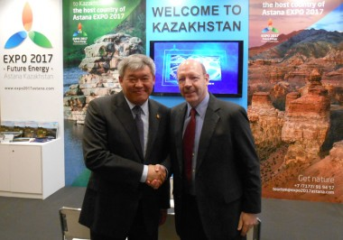 Kazakhstan-Minister-Foreign-Affairs-Rapil-Zhoshybayev-Bernard-Metzger-Travel-Tourism-Foundation