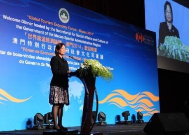 Macau-SAR-Cecília Cheung-Global-Tourism-Economy-Forum-2014-Macao