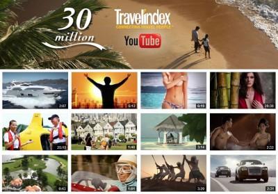 Best Destinations by Travelindex Tops 30 Millions Views