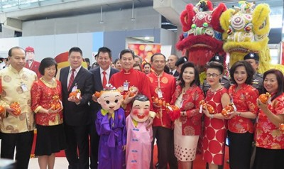 Thailand Welcomes Chinese for Lunar New Year Holiday