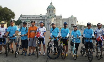 First Bike Journey from Ho Chi Minh City to Bangkok