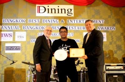 Senor Pico Receives Bangkok's Best RestaurantAward