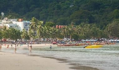 thailand tourism phuket patong beach