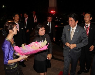 Japanese Prime Minister stayed at Chatrium Hotel Royal Lake Yangon