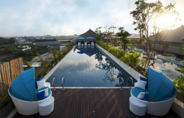 best-western-premier-hotel-sunset-road-kuta-bali-hotels-Rooftop-Pool-with-view
