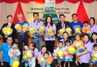 Chatrium Hosted Christmas & New Year Party for Children