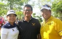 Top Superstars Open New Golf Course