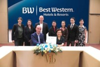 Best Western Signs First Vib Hotel in Bangkok