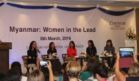 Celebrating International Women's Day In Myanmar
