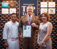 Rembrandt Hotel's Rang Mahal Wins Top Table Award