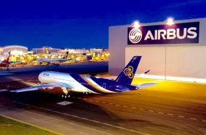 THAI's first A350 XWB Prepared for Delivery