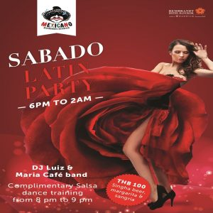 Grand Launch of Sabado Latin Party at Rembrandt Hotel Bangkok