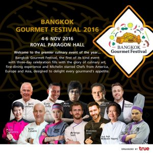 Countdown to the Bangkok Gourmet Festival 2016
