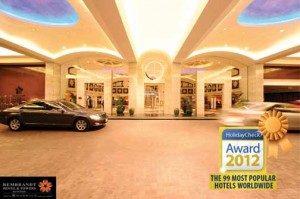 Rembrandt Hotel Bangkok Wins Prestigious Award