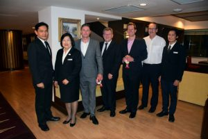 Klaus Sennik Welcomes Wyndham Hotel Group Delegation