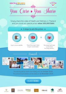You Care You Share, Promoting Health Tourism in Thailand