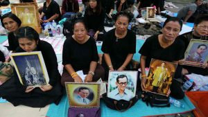Recommendations During Mourning Period for His Majesty King Bhumibol Adulyadej