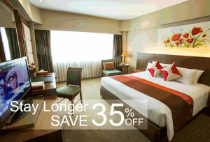 Stay Longer and Save at the Ramada Bangkok Riverside