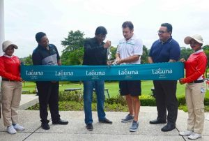 Sir Nick Faldo Launches Renovated Laguna Golf Bintan