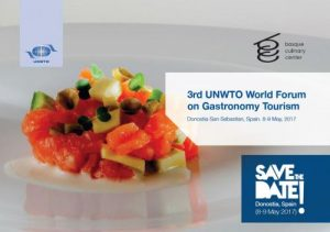 UNWTO Presents World Forum on Gastronomy Tourism