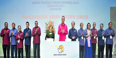 Singapore's PM Launches Visit ASEAN at 50