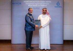Minor Hotels and Nakheel Sign Agreement AVANI Hotel Dubai
