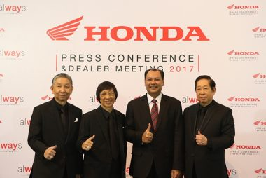 AP Honda Unveils New Models at PEACH Pattaya