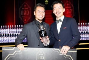 Hideyuki Saito from Bronx Liquid Parlour wins Bacardi Competition