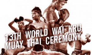 TAT holds the 13th World WaiKruMuay Thai Ceremony