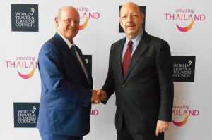 Tourism Leader Meet During the WTTC Global Summit in Bangkok