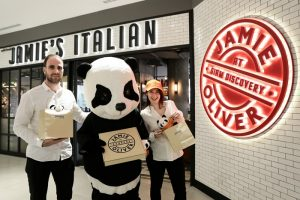Jamie's Top Italian Restaurant Joins with Food Panda