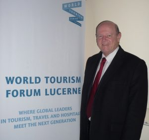 Alain St.Ange Participating on Think Tank on Tourism in Switzerland