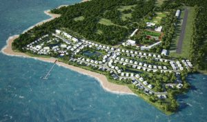 Spectacular Beach Front Property with Private Airstrip Can Be Yours