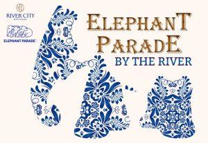 Elephant Parade by the River at River City Bangkok