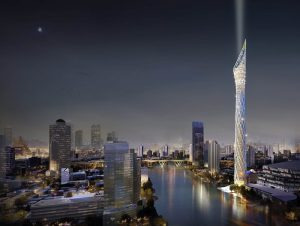 Tallest Observation Tower in Southeast Asia for Bangkok