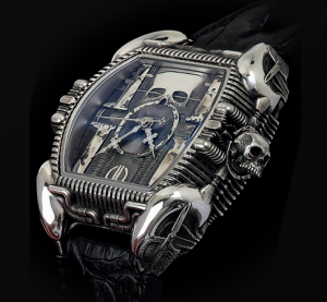 Strom Reveals the Final Work of Swiss Watch Artist, HR Giger
