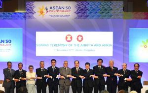 ASEAN and Hong Kong Signs Free Trade & Investment Agreements