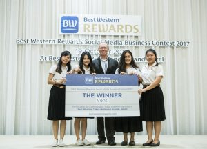 Winners of Business Plan Contest for Thai Students Crowned by Best Western
