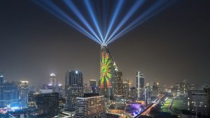 Beautiful Bangkok, Thailand's First High-Rise 3D Projection Mapping Show