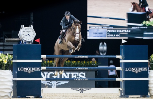 Patrice Delaveau Claims Victory in the Longines Grand Prix