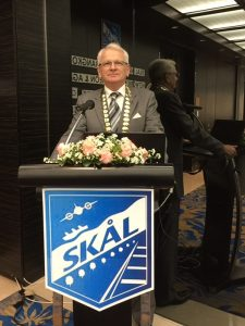 Andrew Wood Back at the Helm of Skal Bangkok President