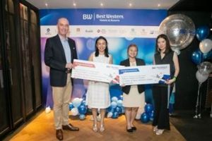 Glittering Party in Bangkok for Best Western Hotels Business Partners