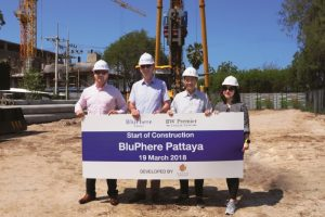 Groundbreaking at Thailand's first BW Premier Collection by Best Western & Habitat Group
