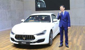Maserati Thailand Showcases Ghibli Granlusso with Ermenegildo Zegna Silk Interior
