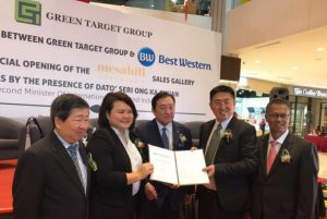 Best Western Hotels, Green Target Group Partner for Exciting New Hotel in Nilai