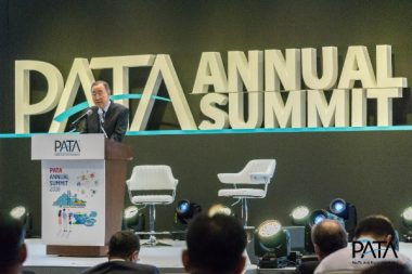 Delegates at PATA Annual Summit 2018 Inspired by H.E. Ban Ki-moon