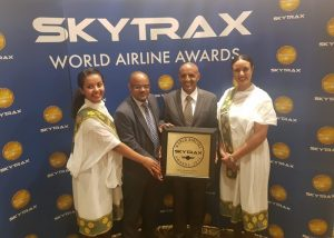 Ethiopian Wins Skytrax Best Airline in Africa Award for 2nd Time in Row