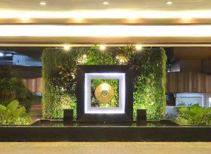 Dusit Thani Manila Unveils Vertical Garden