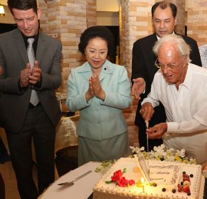 Royal Cliff Delights Celebrates 101st Birthday with Guest