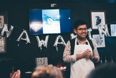 Chef Nawamin international celebrity finalist of 2018 MasterChef UK